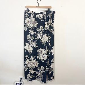 Charlotte Russe Floral Maxi Skirt Size 1X